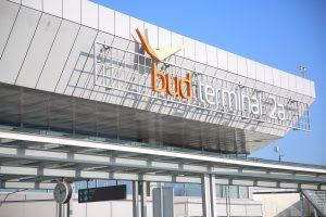 Terminal am Budapester Flughafen